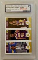 Kobe Bryant 1996 Rookie UD Gold LA Lakers Team Set Gem mint 10 Ultra Rare RC