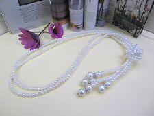 NEW -Long Pearl Necklace