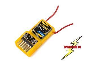 OrangeRx R610 V2 DSM2 Compatible 6Ch 2.4GHz Receiver inc CCPM R615X R410 - UK