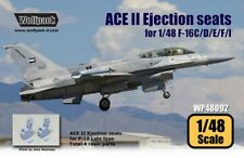 Wolfpack 1:48 ACE II Ejection Seat for F-16 C/D 2pc - Resin Detail #WP48092U