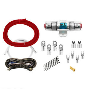 CT Sounds OFC Car Amp Kit 0 AWG 0GA ELITE Series Wire Installation Amplifier Kit