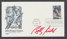 Billy Kidd, American Olympic Alpine Ski Racer, signed Winter Olympics FDC