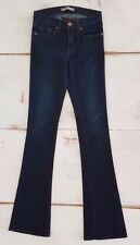 j brand women's jeans size 25 enchanted janey super slim bootcut dark stretch