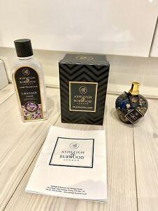 Ashleigh & Burwood Blue Gold Fragrance Lamp Refill Twilight Treasure Lavender