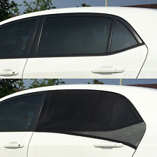 2 x Car UV Side Rear Window Sun Visor Shade Mesh Cover Shield Sunshade Protector