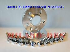 COPPIA DISTANZIALI 16mm 5x108 -67.0 - FERRARI F550 MARANELLO + Bulloni FERRARI