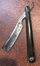 OLD VINTAGE ANTIQUE Wm GREAVES & SONS  STRAIGHT RAZOR 3/4""