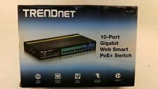 TRENDnet (TPE-1020WS) 10-Port Gigabit Web Smart PoE+ Switch w/Brackets