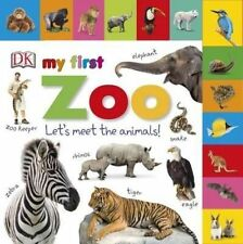 Tabbed Board Books My First Zoo / DK / Englische Kinderbücher mit Griffregister