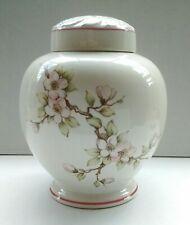 Grimwades/Royal Winton Floral Ginger Jar: Orchard Apple Blossom: Backstamped