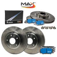 [F+R] Rotors w/M1 Ceramic Pads OE Brakes (2006 - 2010 Cherokee SRT8)