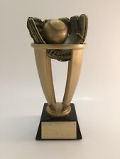 Gold Baseball Trophy! Free Engraving! Ships In 1 Business Day!