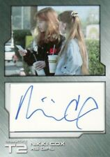 Terminator 2 T2 Nicki Cox as Girl NC3 Cut Autograph Card 1 of 6