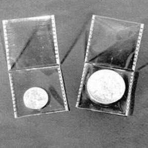 """SAFLIP PVC-Free Coin 2"""" x 2"""" Holders Pack of 50"""