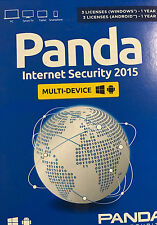 PANDA INTERNET SECURITY 2015 MULTI DEVICE 6 USES UPGRADABLE FOR FREE TO 2017