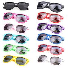 Classic Sunglasses Retro Fashion 80s Mens Ladies Womens Neon Designer UV400