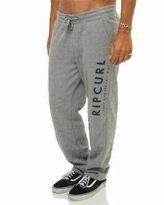 BNWT Rip Curl Men Fleece Tracksuit Joggers Relaxed fit Track Jogging Pants S-2XL