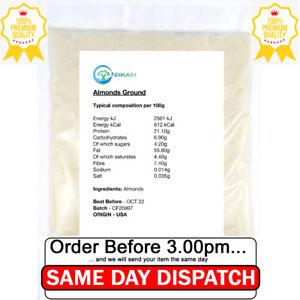 Almond Flour 200g Ground Almonds Powder Blanched Fine Food Keto Gluten Free