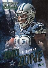 2014 Score Destination End Zone Green #DE9 Dez Bryant Cowboys