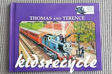 Thomas the Tank Engine Book Club - THOMAS AND TERENCE(Rev. W. Awdry) - 1995 - EC