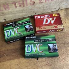 Mini DV Digital Video Cassette Maxell 60SP//90LP Cinta Casete para Videocamara