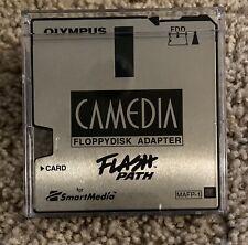 Olympus Camedia Flash Path Floppy Disk Adapter Mafp-1 Smart Media