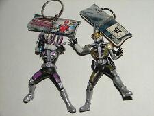 2 Kamen Rider Den-O Figure Keychains! Masked Rider Ultraman Godzilla