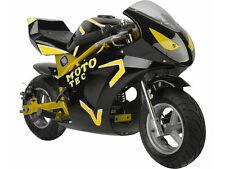MotoTec Gas Pocket Bike GT 49cc 2-Stroke Kids Adults 20 MPH Disc Brakes F,R