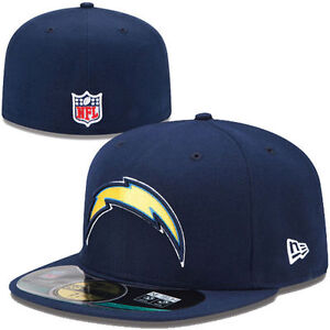 New Era NFL Los Angeles Chargers On Field Sideline 59Fifty Fitted Cap NewEra Hat