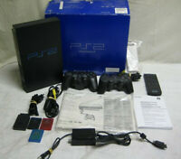 Sony PlayStation 2 PS2 Fat Console System +2 Controllers, Remote Control Memory