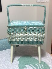 Vintage Dritz Style #8105 Made in Japan Standing Sewing Box Basket