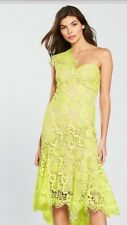 Karen Millen One Shoulder lace dress size 16 RRP £280  Sold Out current season