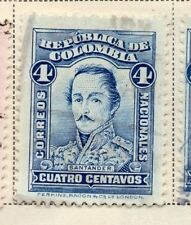 Colombia 1917 Early Issue Fine Used 4c. 172785