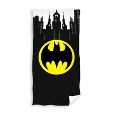 BATMAN GOTHAM BEACH BATH TOWEL 100% COTTON DC COMICS KIDS