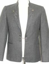 ZEILER ~ CHARCOAL GRAY / WOOL German Men Gorsuch Dinner Suit JACKET Coat 38 40 M