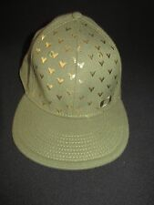 Oakley Green Gold Metallic Control Fit Stabilizer Hat Cap Size L/XL