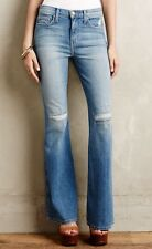 NWT Current/Elliott Girl Crush Flare Jeans Size 30 Heirloom Repair