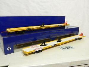 Athearn Genesis HO F89F 2pc Flat Wagon Set TTX 161044 Box G29548