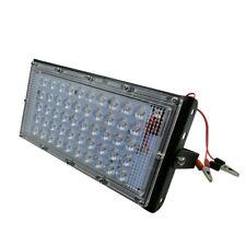 12V 50W Slim LED Floodlight Cool White Outdoor Security Lights Garden Lamp