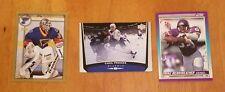 Lot of 3 1990/98/99 Upper Deck Topps Score St.Louis Blues Hockey Football Cards