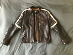 Men/'s WAR OF THE WORLDS Brown Nappa Real Leather Hollywood Hero Movie Jacket