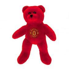Manchester United/Man Utd Oficial Crestado de Oso de Peluche Oso Mini suave al tacto