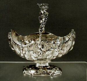 Tiffany Silver Basket        c1845 JOHN C. MOORE
