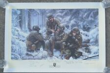 HANG TOUGH Signers Print Personally Owned & Signed by Forrest Guth & 12 Veterans