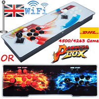 2021 New 4500 Or 4263 3D Pandora's Box Video Games Arcade Consoles HD Video UK
