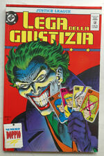 LEGA DELLA GIUSTIZIA 28/29 Justice League PLAY PRESS 1992 Giffen De Matteis