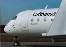 (whp) Airplane Postcard: Lufthansa, Canadair Jet