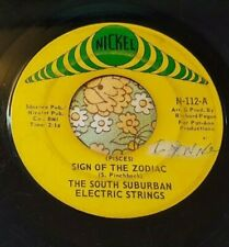 Psychedelic Funk 45 South Suburban Electric Strings (Pieces) Zodiac HEAR