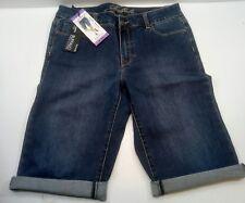 New Buffalo David Bitton Bermuda shorts Jean, midrise, 5 pocket, size 4 / 27