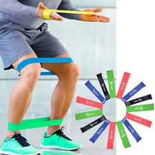 1Pc Red Elastic Resistance Band Strength Trainer Yoga Exercise Fitness Belt HOT